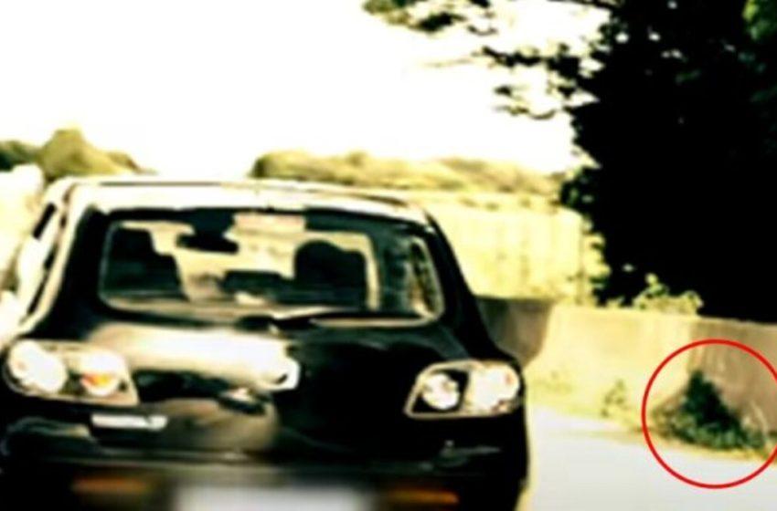 ¡Indignante! Perrito es arrojado como si fuera basura desde un auto en movimiento