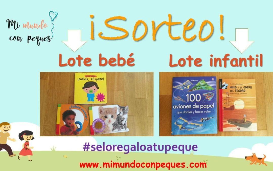 Sorteo de dos lotes de cuentos infantiles #seloregaloatupeque