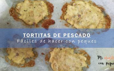 Tortitas de pescado baratas y fáciles de hacer con niños