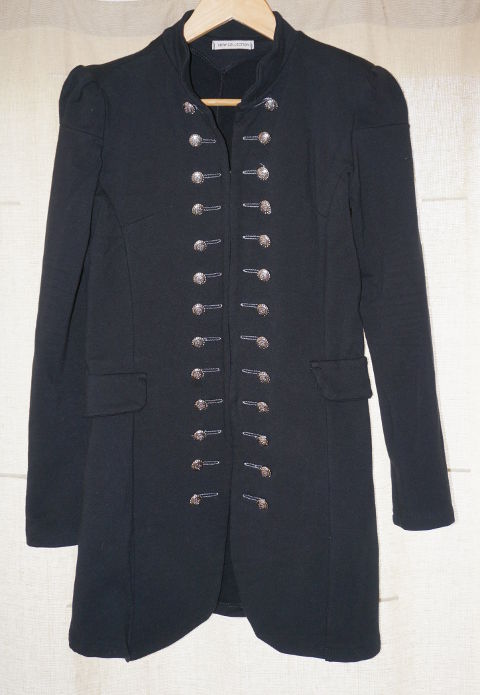 Elastic military jacket