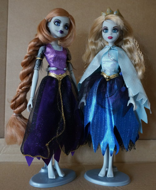 Rapunzel y Bella Durmiente