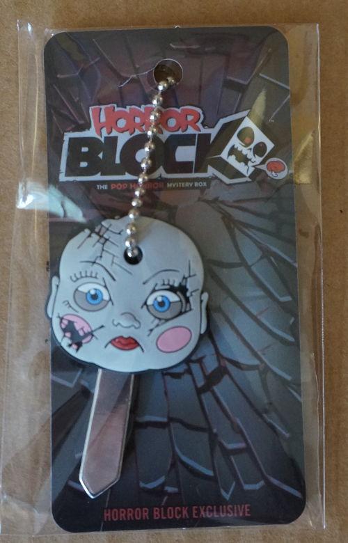 Horror Block creepy key cap