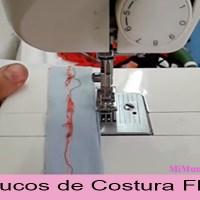 Porque la maquina de coser familiar cose flojo abajo
