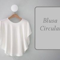 Elegante blusa circular con patrones curso
