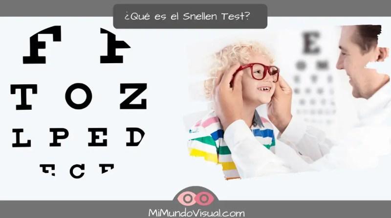¿Qué es el Snellen test?