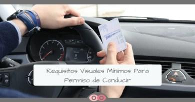 Requisitos Visuales Mínimos Para Carnet de Conducir - mimundovisual.com