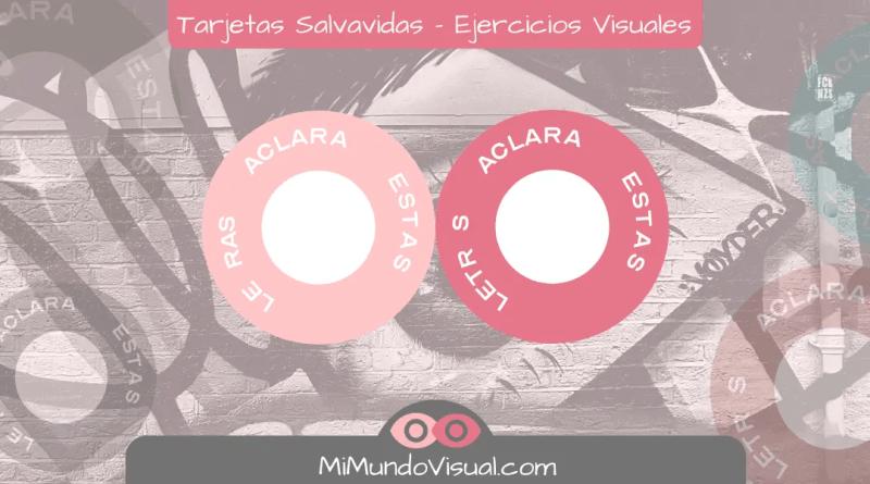 Tarjetas Salvavidas - Ejercicios Visuales - mimundovisual.com