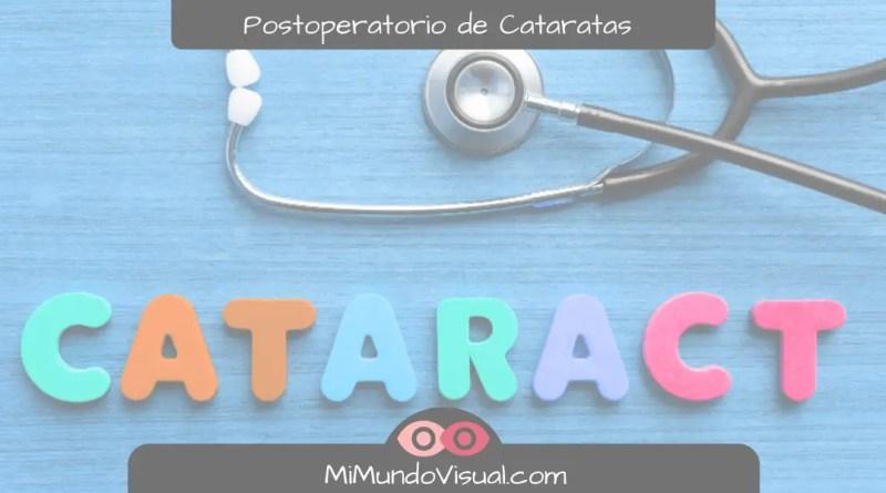 6 Preguntas Sobre El Postoperatorio De La Operación De Cataratas - mimundovisual.com
