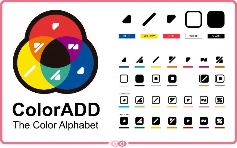 Código ColorADD - mimundovisual.com