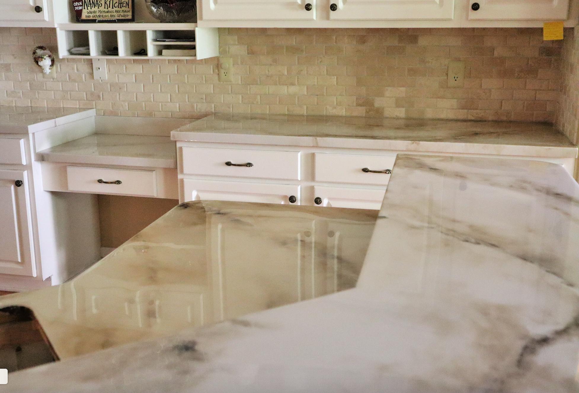 epoxy over laminate counters aka