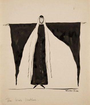 """Clara Tice, """"The War Mother"""" (1916)"""