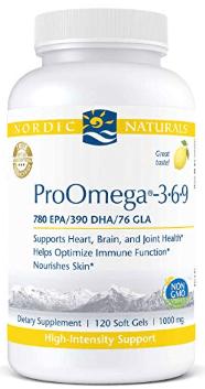 Essential fatty acids omega 3-6-9