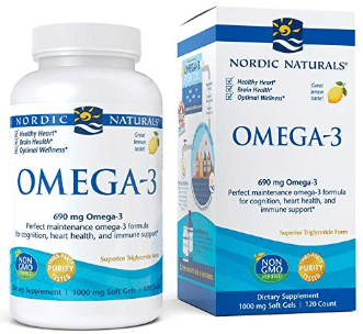 Omega-3, Cognition, Heart Health, and Immune Support