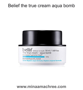 Belief the true cream aqua bomb