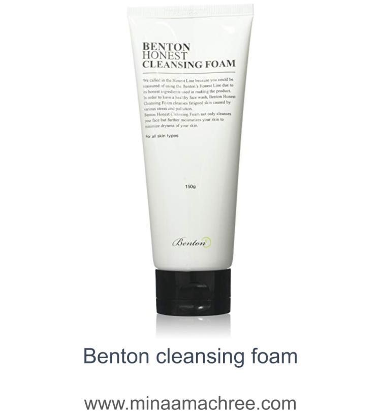 Benton cleansing foam