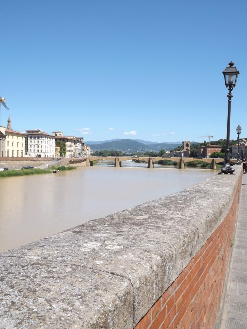 View of the Arno River, Florence.