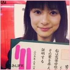 yosine 芳根京子 ラストシンデレラ(画像) 生理になる役で子役デビュー