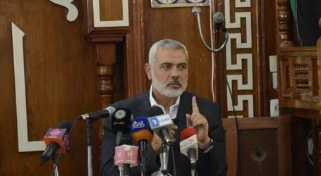 Haniyah: Swiss Berniat Gelar Konferensi Bahas Rekonsiliasi Palestina