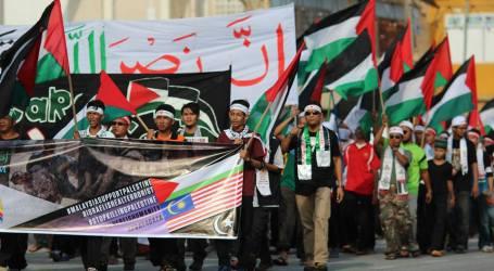 MASYARAKAT TERENGGANU MALAYSIA ADAKAN AKSI PEDULI GAZA
