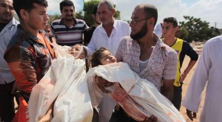 KORBAN AGRESI ISRAEL KE GAZA LAMPAUI  ANGKA 11.000 JIWA