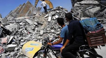 DI AMBANG KEHANCURAN DUNIA USAHA PEMUKIM ILEGAL ISRAEL DI DEKAT GAZA