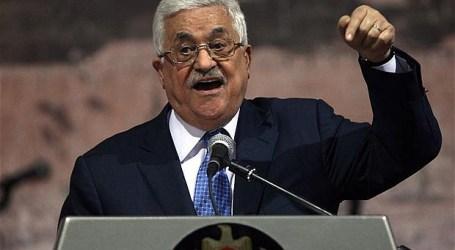 ABBAS DESAK AS HENTIKAN NIAT ISRAEL MEMBAGI AL-QUDS