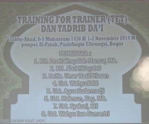 Jamaah Muslimin (Hizbullah) Adakan Pelatihan Da'i Untuk Seluruh Umat