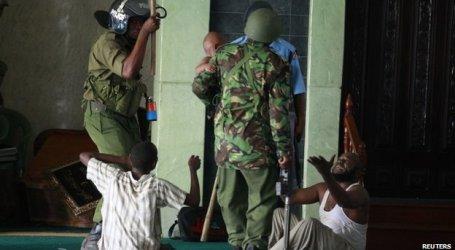 POLISI KENYA SERANG MASJID DI MOMBASA