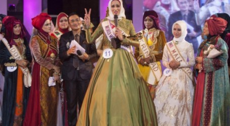 TUNISIA JUARA KONTES WORLD MUSLIMAH AWARD DI INDONESIA