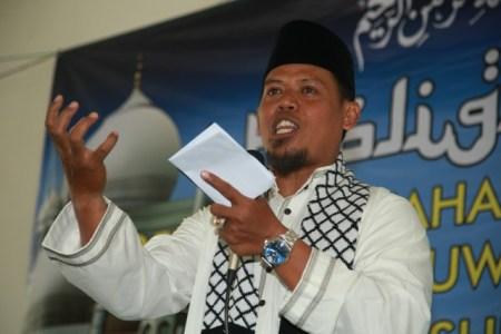 Ustadz Amin Nuroni, Wakil Amir Majelis Dakwah Pusat Jama'ah Muslimin (Hizbullah). Photo By : Hadis/MINA