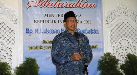 MENTERI AGAMA : PONPES BERI KONTRIBUSI BESAR BAGI PERJUANGAN INDONESIA