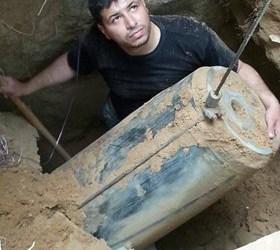 DITEMUKAN RATUSAN PELEDAK DIKUBUR ISRAEL DI BAWAH TANAH GAZA