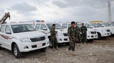 TURKI BERI 15 TRUK UNTUK PESHMERGA LAWAN ISIS