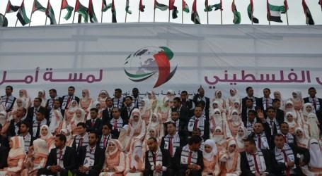 200 PASANG PENGANTIN NIKAH MASSAL DI GAZA