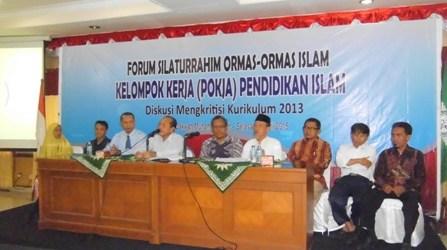 FORUM ORMAS ISLAM SAMPAIKAN USULAN BENAHI KURIKULUM 2013