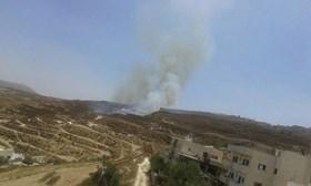 ISRAEL BAKAR RATUSAN HEKTAR TANAH PALESTINA DI SELATAN NABLUS