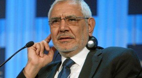 MANTAN CALON PRESIDEN BERHARAP INTIFADA DI MESIR
