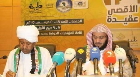 SUDAN ADAKAN SEMINAR INTERNATIONAL AL-AQSHA