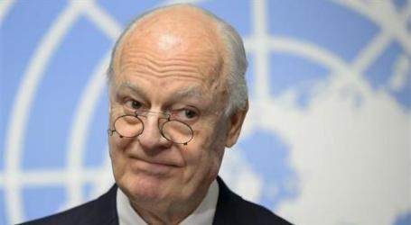 Utusan Khusus PBB : Tak Realistis Pembicaraan Damai Suriah Dimulai Lagi 25 Pebruari