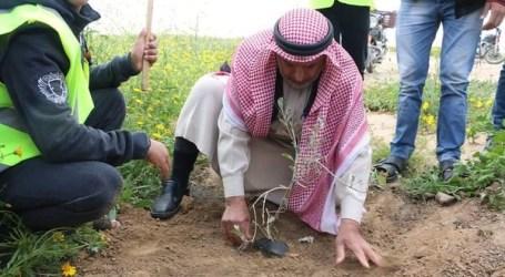 """Peringati """"Hari Tanah"""", Warga Palestina Gelar Aksi Solidaritas di Berbagai Wilayah"""