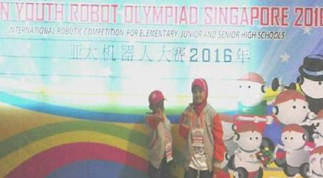 Siswa Madrasah Juara Olimpiade Robot Internasional