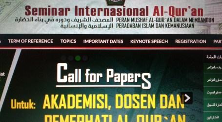 Kemenag Akan Gelar Seminar Internasional Tentang Al-Quran