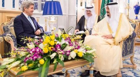 Kerry-Raja Salman Bertemu Bahas Gencatan Senjata Suriah