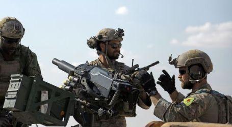 Pasukan Khusus AS Memakai Lambang Kelompok Kurdi Suriah