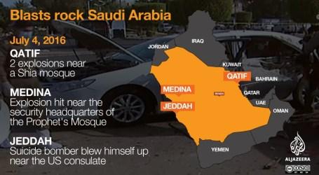 Raja Salman Sumpah Lawan Pengebom Madinah dengan Tangan Besi