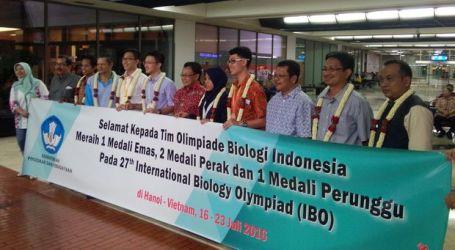 Tim Biologi Indonesia Sukses Pertahankan Tradisi Emas di Olimpiade Internasional