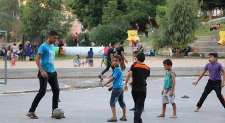 Taman Damai Barcelona Di Jantung Kota Gaza
