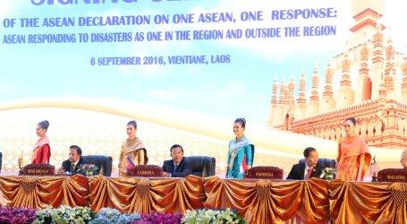 Bersama Para Pemimpin ASEAN, Presiden Jokowi Tandatangani Deklarasi Hadapi Bencana