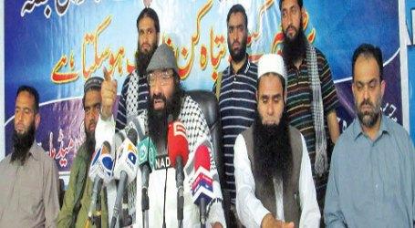 Dewan Jihad Minta Dukungan Militer Pakistan untuk Militan Kashmir