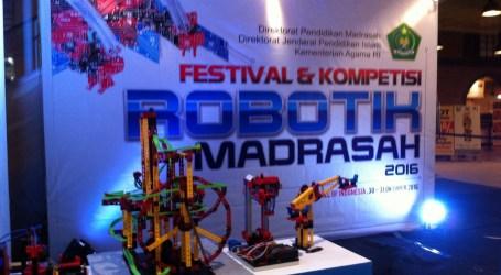 Festival dan Kompetisi Robotik Madrasah 2016 Resmi Dibuka